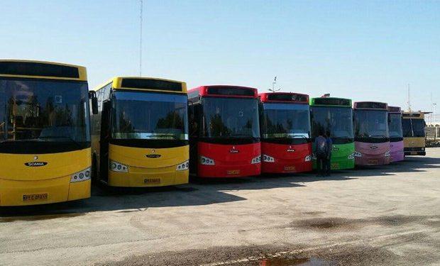 اضافه شدن ٢٠ اتوبوس به چرخه حمل و نقل عمومى بندرعباس