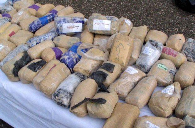 کشف بیش از یک تن مواد افیونی در عملیات پلیس رودان