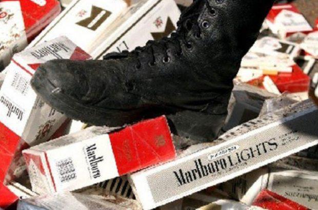 کشف ۹۸۰ هزار نخ سیگار قاچاق در بندرعباس