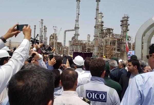 بازديد وزیر نفت از پالايشگاه ستاره خليج فارس