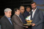 عباس ميرزاد مدير برتر جشنواره شهید رجايى شد