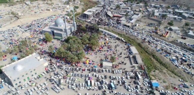 آغاز پیادهروی جاماندگان اربعین در امامزاده سید سلطان محمد