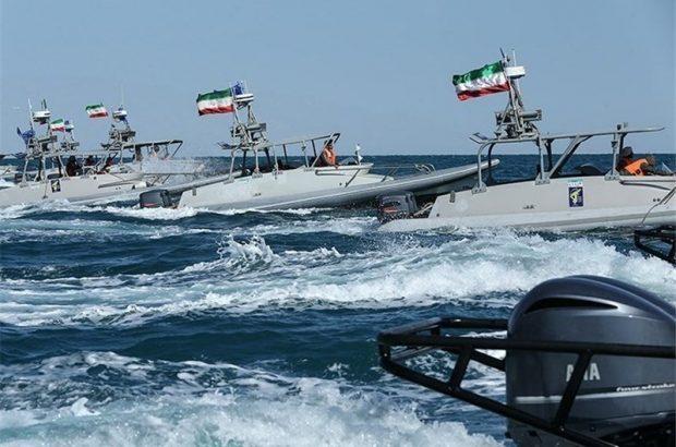 تمرین دریابانان هرمزگان با هدف مبارزه با قاچاق کالا