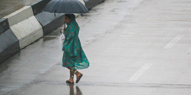 بارش پراکنده باران در هرمزگان
