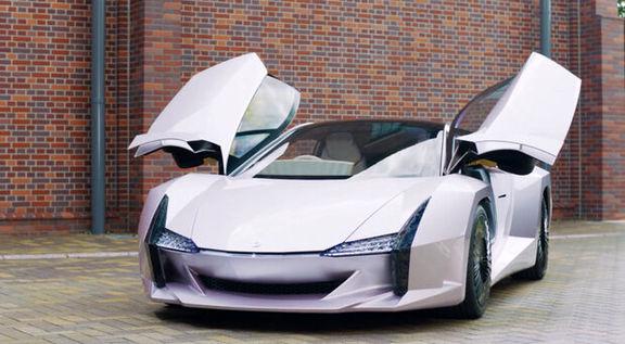 تولید یک خودروی سبک و قدرتمند با بدنه فیبر نانو سلولزی