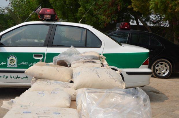 کشف ۷۰۰ کیلو مواد افیونی در هرمزگان