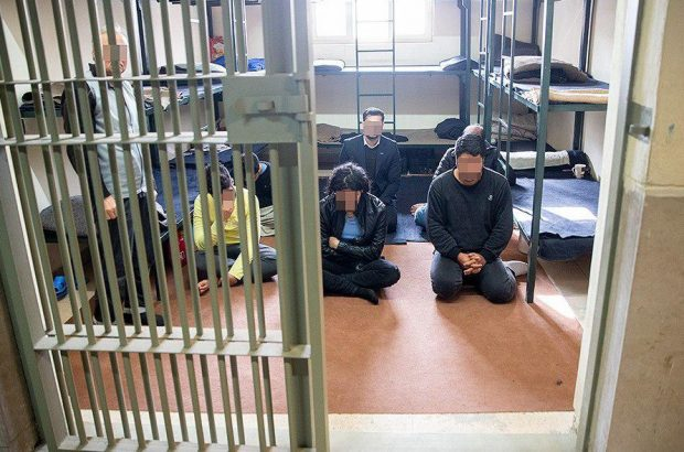 عبور مواد مخدر از دیوارهای امنیتی زندان بندرعباس