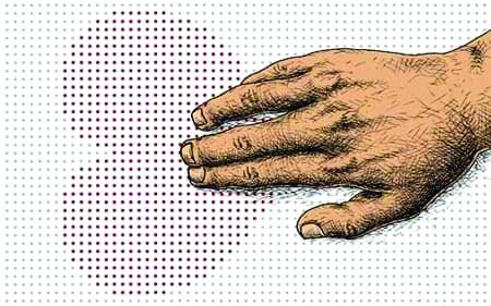 لمس میکنم پس هستم
