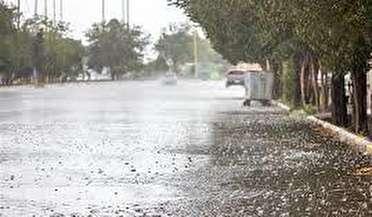 بارش رحمت الهی در بندرعباس