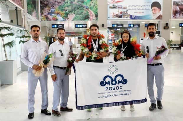 افتخارآفرینی ورزشکاران نفت ستاره خلیج فارس در مسابقات آسیایی و کشوری