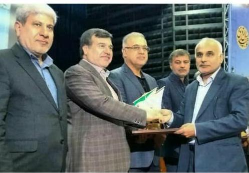 حسین فرشیدی مدیر برتر جشنواره شهید رجایی شد