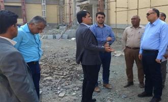 بررسی آخرین وضعیت پروژههای عمرانی شهرستان سیریک
