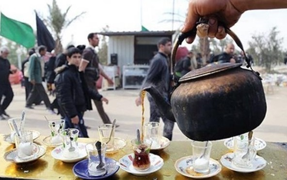 برپایی موکب اوقاف هرمزگان در مرز شلمچه