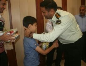 رهایی کودک ۸ ساله از چنگ آدم ربایان در میناب