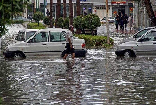 رگبار شدید باران و سیلاب در هرمزگان