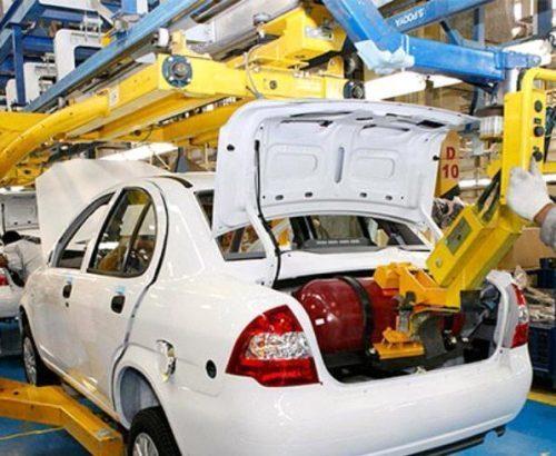 افزایش تولید خودروهای گازسوز