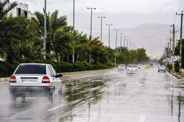 آخر هفته بارانی در انتظار هرمزگان