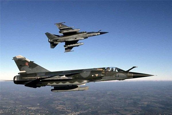 ساقط شدن موشک های رژیم صهیونیستی توسط پدافند سوریه