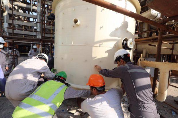 تعمیرات اساسی در واحد بنزین سازی پالایشگاه ستاره خلیج فارس