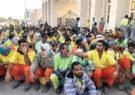 دود کسری بودجه در چشم کارگران شهرداری بندرعباس